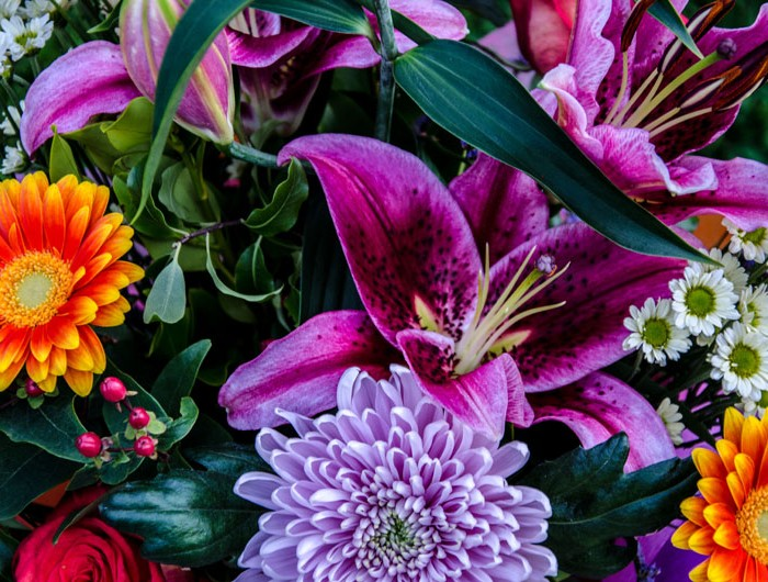 Bright Anniversary Flowers